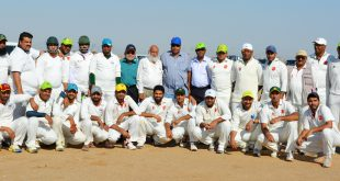 Jeddah-Cricket-Association-MCH-Premier-MB-Stars-teams-with-JCA-officials-Umpires